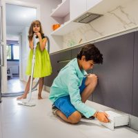 Variovac Integra 140 Q-Serie - kuhinjska samostojno delujoča smetišnica